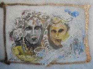 Gina Gressani - La donna e la sua maschera - 2016