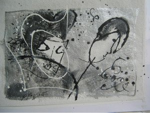 Gina Gressani - Maschere in bianco e nero - 2016
