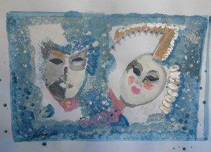 Gina Gressani - Prospettive di maschere - 2016