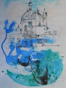 Gina Gressani - Venezia Canal Grande - 2016